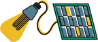 Solar Lamps Icon
